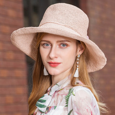 Ladies' Beautiful/Elegant Papyrus Floppy Hats/Straw Hats