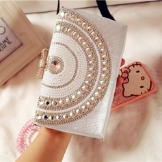Charming PU/Alloy Clutches