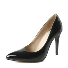 Women's PVC Stiletto Heel Pumps Closed Toe With Others shoes
