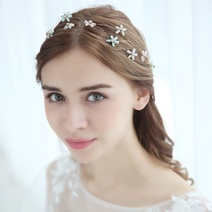 Ladies Glamourous Alloy Headbands With Rhinestone (Sold in single piece)
