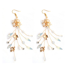 Ladies' Romantic Alloy Earrings For Bride/For Bridesmaid/For Mother