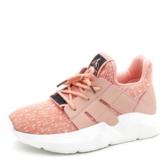Women's Fabric With Lace-up Sneakers & Athletic