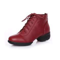 Real Leather Sneakers Dance Boots Dance Shoes