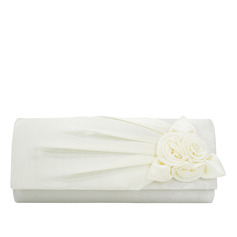 Elegant Silk Clutches/Bridal Purse (012218921)
