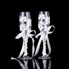 Beautiful Toasting Flutes (Set Of 2)