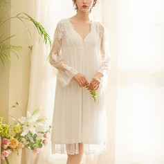 Cotton/Spandex Bridal/Feminine Sleepwear Sets