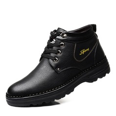 Men's Leatherette Casual Men's Boots