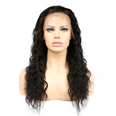Indian Curly Human Hair Human Hair Lace Front Wigs