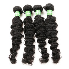 5A Deep Human Hair Human Hair Weave (Sold in a single piece)