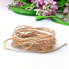 Diameter 1.5mm Length 10m Jute Burlap Rope Party Gifts Packaging Materials (Sold in a single piece)