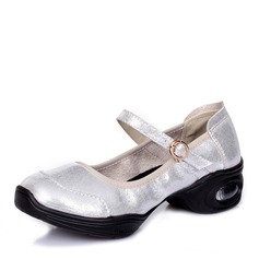 Women's Microfiber Leather Practice Dance Shoes