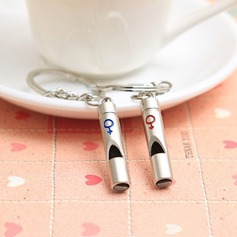 "Classic ""Whistles of Love"" Zinc alloy Keychains"