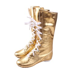 Women's Leatherette Boots Jazz Dance Shoes