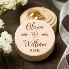 Personalized Wood Ring Box (103217049)