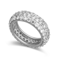 Shining Zircon/Platinum Plated/Rose Gold Plated Ladies' Rings