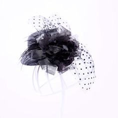 Elegant Tyll Fascinators/Tea Party Hattar