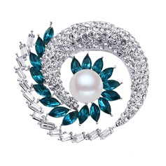 Eternal Love Alloy/Rhinestones/Imitation Pearls With Rhinestone/Imitation Pearls Ladies' Brooch