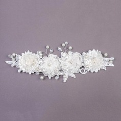 Beautiful Imitation Pearls/Lace Headbands