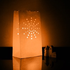 Sunshine shaped Cut-out Paper Luminary