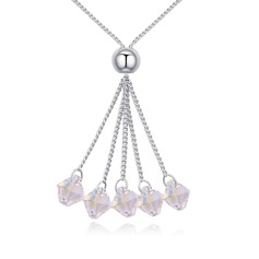 Fashional Alloy/Crystal With Crystal Necklaces