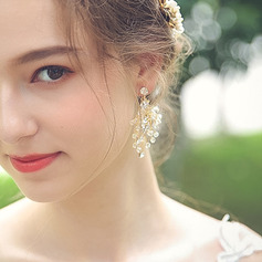 Ladies' Elegant Alloy Rhinestone Earrings For Bride/For Bridesmaid/For Mother/For Friends/For Her