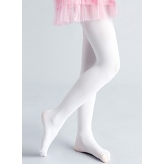 White Polyester Flower Girl Pantyhose(198121139)