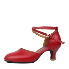 Women's Real Leather Ballroom Dance Shoes