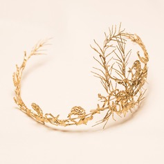 Glamourous Copper/Plating/Gold-plating technology Tiaras