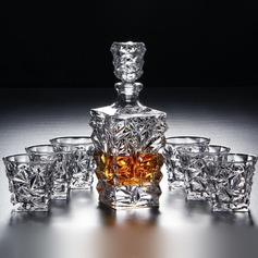 Groom Gifts - Vintage Glass Decanter Set (257185234)