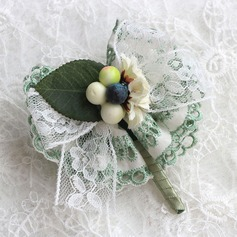 Nice Satin/Lace Boutonniere/Men's Accessories