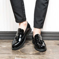 Men's Patent Leather Tassel Loafer Casual Men's Loafers (260176599)