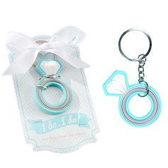 Wedding Ring Keychain - Rubber