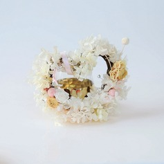 Nice/Heart Design Beautiful/Heart Shaped Artificial Flowers Wedding Ornaments