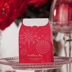 """Wedding Day"" Cuboid Favor Boxes"