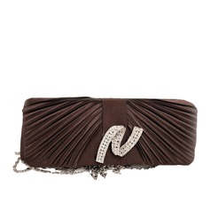 Attractive Satin/Crystal/ Rhinestone Clutches