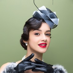 Ladies' Beautiful Polyester With Feather Fascinators