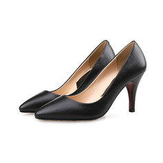 Women's Leatherette Stiletto Heel Pumps With Others