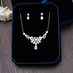 Beautiful Zircon Ladies' Jewelry Sets