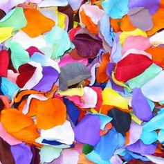 Multi-color Rose Silk Petals  (More Colors)