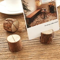 Tree Design Round Wooden Place Cards/Decorative Accessories  (131186064)
