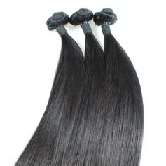 5A Virgen/Remy Derecho Longitud media Largo Cabello humano Tejido de pelo / trama Extensiones (Sold in a single piece) 100g