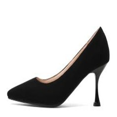 Women's Suede Others Pumps Closed Toe shoes