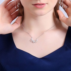 Gorgeous Alloy Zircon Copper Ladies' Fashion Necklace