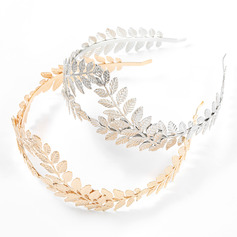 Leaves Shaped Alloy Headbands