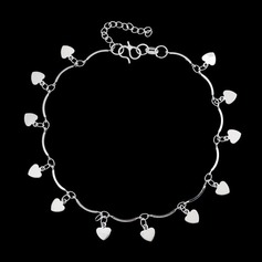 Sweet Heart Alloy Ladies' Bracelets