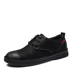 Men's Leatherette Lace-up Casual Men's Loafers