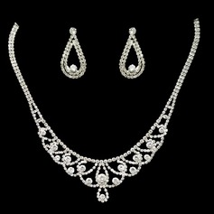Gorgeous Rhinestones Ladies' Jewelry Sets