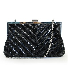 Classical Sequin Clutches/Wristlets