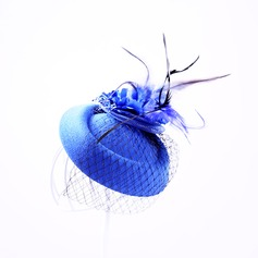 Elegant Fjäder/Tyll Fascinators