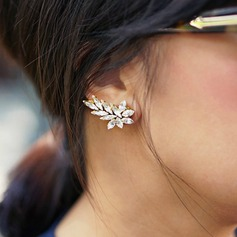 Gorgeous Alloy Acrylic Ladies' Fashion Earrings (Sold in a single piece)